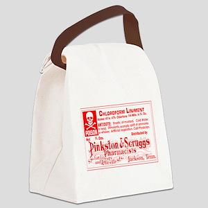 Poison Chloroform Canvas Lunch Bag
