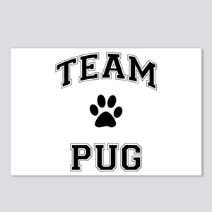 Team Pug Postcards (Package of 8)