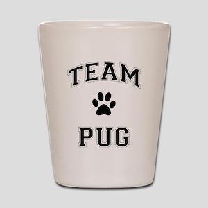 Team Pug Shot Glass