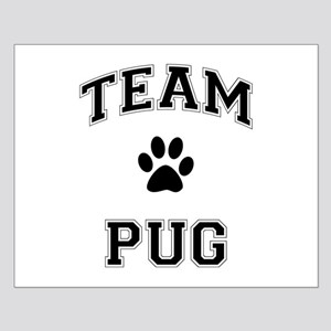 Team Pug Small Poster