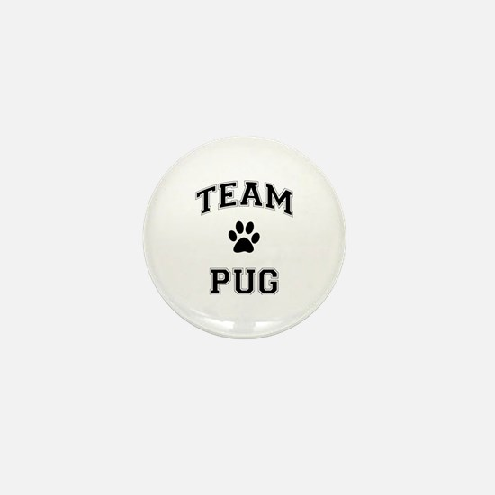 Team Pug Mini Button