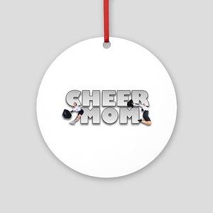 Cheer Mom Ornament (Round)