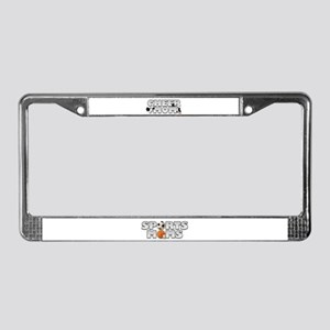 Cheer Mom License Plate Frame