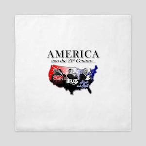 21st Century America Queen Duvet
