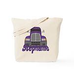 Trucker Stephanie Tote Bag
