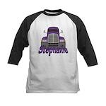 Trucker Stephanie Kids Baseball Jersey