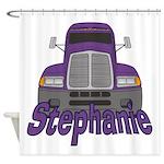 Trucker Stephanie Shower Curtain