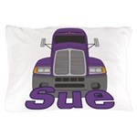 Trucker Sue Pillow Case
