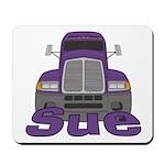 Trucker Sue Mousepad