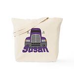 Trucker Susan Tote Bag