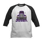 Trucker Susan Kids Baseball Jersey