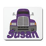 Trucker Susan Mousepad