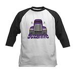 Trucker Suzanne Kids Baseball Jersey