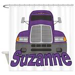 Trucker Suzanne Shower Curtain