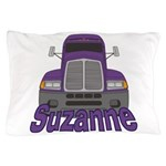 Trucker Suzanne Pillow Case