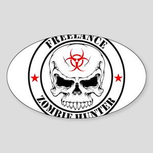 Freelance Zombie Hunter Sticker