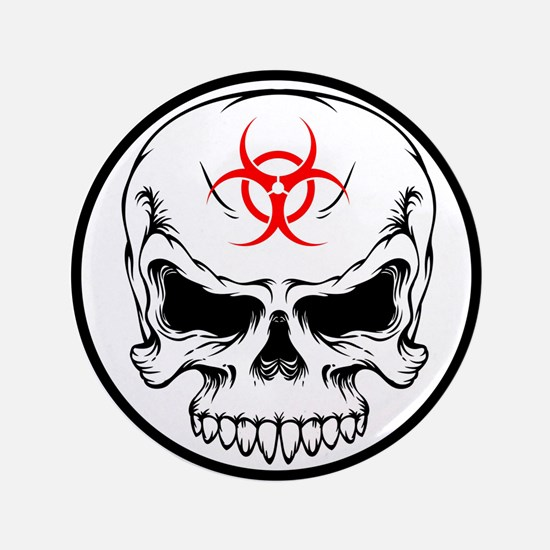 """Freelance Zombie Hunter 3.5"""" Button (100 pack)"""