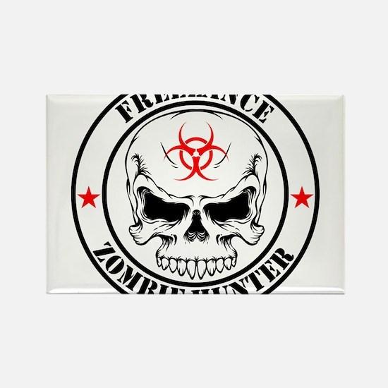 Freelance Zombie Hunter Magnets