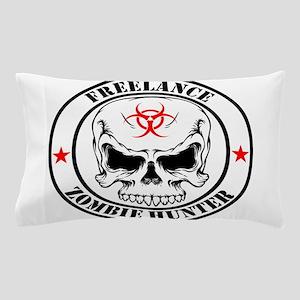 Freelance Zombie Hunter Pillow Case