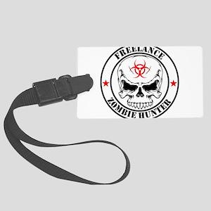 Freelance Zombie Hunter Luggage Tag