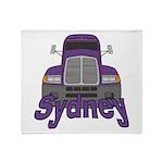 Trucker Sydney Throw Blanket
