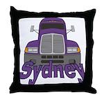 Trucker Sydney Throw Pillow