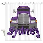 Trucker Sydney Shower Curtain