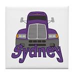 Trucker Sydney Tile Coaster
