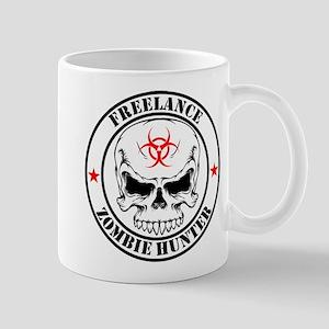 Freelance Zombie Hunter Mugs