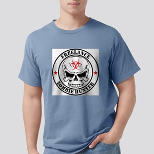 Freelance Zombie Hunter Mens Comfort Colors Shirt