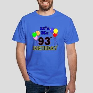 It's My 93rd Birthday Dark T-Shirt