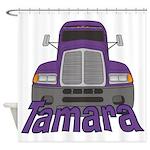 Trucker Tamara Shower Curtain