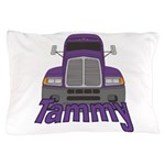 Trucker Tammy Pillow Case