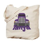 Trucker Tanya Tote Bag