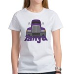 Trucker Tanya Women's T-Shirt