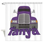 Trucker Tanya Shower Curtain