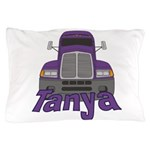 Trucker Tanya Pillow Case