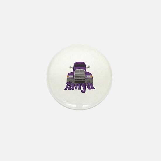 Trucker Tanya Mini Button