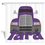 Trucker Tara Shower Curtain
