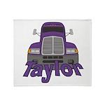 Trucker Taylor Throw Blanket