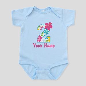 2nd Birthday Tropical Infant Bodysuit