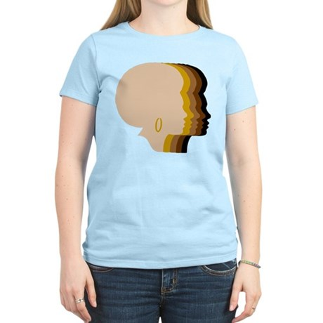 Women Afro Five Tones T-Shirt
