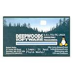 Linux: It Just Plain Work! Sticker