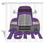 Trucker Terri Shower Curtain