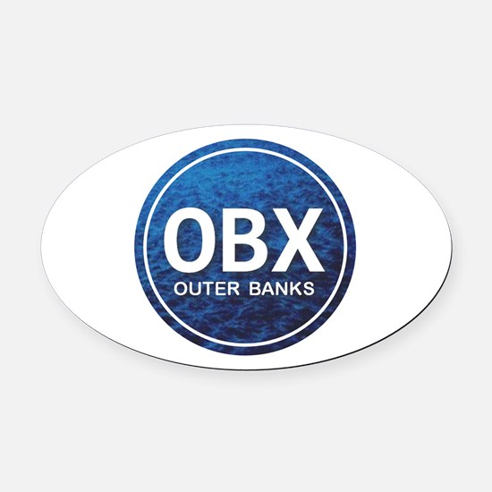 OBX - Outer Banks Oval Car Magnet