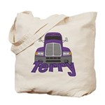 Trucker Terry Tote Bag
