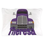 Trucker Theresa Pillow Case