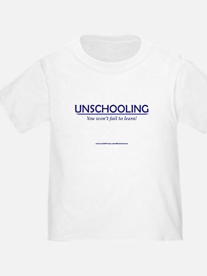 Cute GIFT Unschooling Homeschool Kid's Shirt Gift