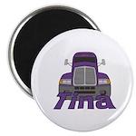 Trucker Tina Magnet