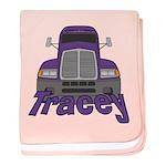 Trucker Tracey baby blanket